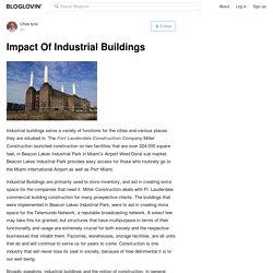 Impact Of Industrial Buildings