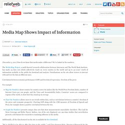 Media Map Shows Impact of Information