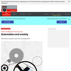 The impact on jobs: Automation and anxiety