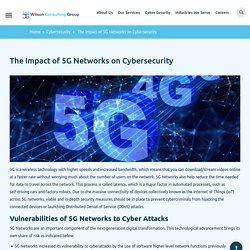 The Impact of 5G Networks on Cybersecurity