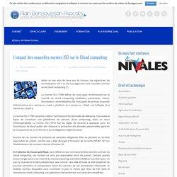 L'impact des nouvelles normes ISO sur le Cloud computing