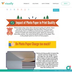 Impact of Photo Paper in Print Quality