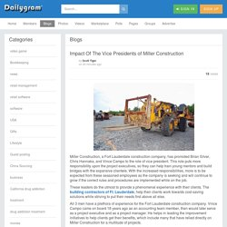 Impact Of The Vice Presidents of Miller Construction