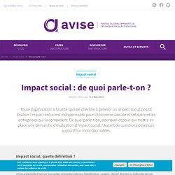 Impact social : de quoi parle-t-on ?