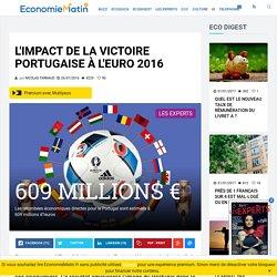 L'impact de la victoire portugaise à l'Euro 2016