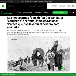 """Las impactantes fotos de 'La Desbandá', la """"carnicería"""" del franquismo en Málaga: """"Parece que nos lavaron el cerebro para olvidarlo"""""""