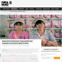 Impactantes retratos de trabajadores que elaboran los juguetes Made in China