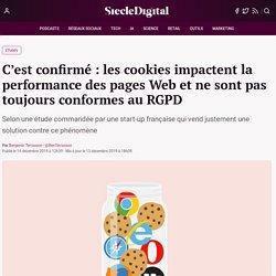 C'est confirmé : les cookies impactent la performance des pages Web et ne sont pas toujours conformes au RGPD