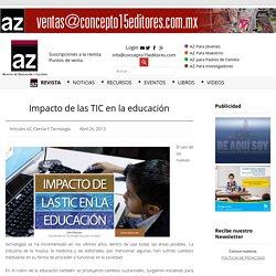 Impacto de las TIC en la educación
