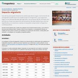 Impacto migratorio