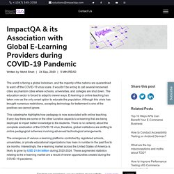 ImpactQA & its Association with Global E-Learning Providers during COVID-19 Pandemic - ImpactQA