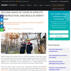Second Wave of COVID-19 Impacts Construction, and Results Aren't Good