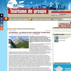 Loi Macron : les impacts sur l'industrie touristique