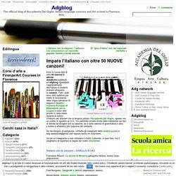 Impara l'italiano con oltre 50 NUOVE canzoni!