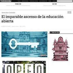 El imparable ascenso de la educación abierta