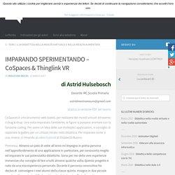 IMPARANDO SPERIMENTANDO – CoSpaces & Thinglink VR – BRICKS