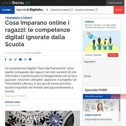 Cosa imparano online i ragazzi: le competenze digitali ignorate dalla Scuola