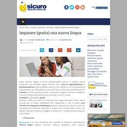 Imparare (gratis) una nuova lingua 6sicuro.it