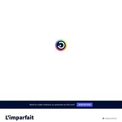 L'imparfait by La bande à Albus on Genially