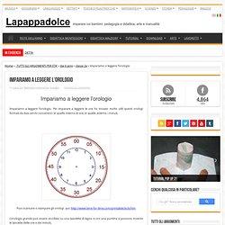 Impariamo a leggere l'orologio - La pappadolce