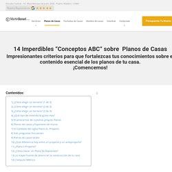 """14 Imperdibles """"Conceptos ABC"""" sobre Planos de Casas"""