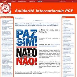 Impérialisme - Le Parti communiste… - « Le conflit syrien… - Un compte-rendu de… - Hiroshima, Nagasaki… - Une civilisation… - Déclaration commune… - Les déshérités… - Une ONG américaine… - Cuba refuse de… - Une analyse… - Le PC Espagnol… - Les communistes
