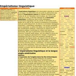 Impérialisme linguistique