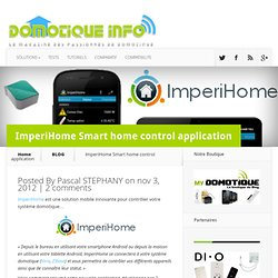 ImperiHome Smart home control application