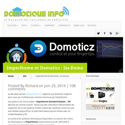 Imperihome et Domoticz : Iss-Domo