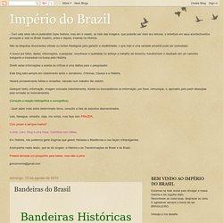 Império do Brazil: Bandeiras do Brasil