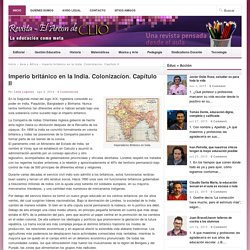 Imperio británico en la India. Colonizacíon