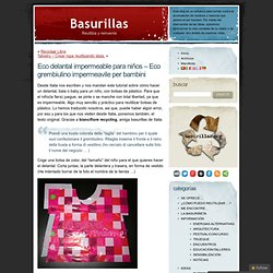 Blog Archive » Eco delantal impermeable para niños – Eco grembiulino impermeavile per bambini