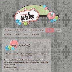 Impfempfehlung - de-la-fees Jimdo-Page!