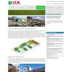 Impianti per il trattamento dei rifiuti solidi urbani talquale