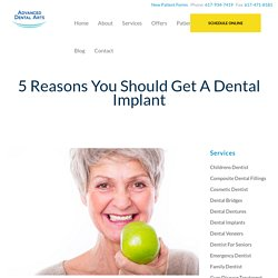 5 Reasons You Should Get A Dental Implant