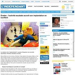 Prades : l'activité escalade accroît son implantation en Conflent