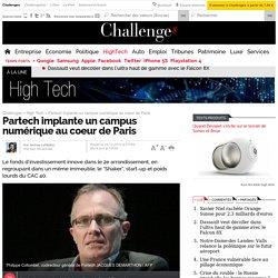 Partech implante un campus numérique au coeur de Paris