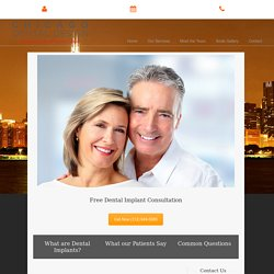 Permanent Implant Dentist Chicago