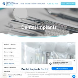 Dental Implant - Providing Fixed Support for Artificial Teeth