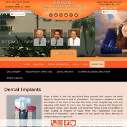 Dental Implants in Pembroke Pines, Hollywood, 33312 & 33024