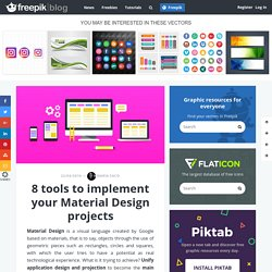 8 tools to implement your Material Design projects - Freepik Blog