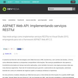 ASP.NET Web API: Implementando serviços RESTful