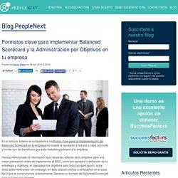 Formatos clave para implementar Balanced Scorecard y la Administración por Objetivos en tu empresa