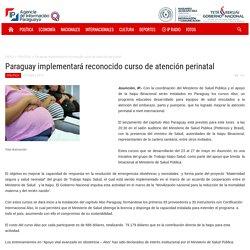 Paraguay implementará reconocido curso de atención perinatal