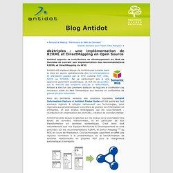 db2triples : une implémentation de R2RML et DirectMapping en Open Source