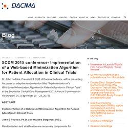 Web Based Randomization Clinical Trial