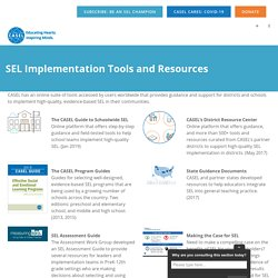 SEL Implementation Tools and Resources