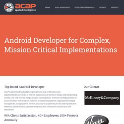 Android Development & Consulting Company