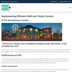 Implementing Efficient Staff and Visitor Control – SkyVisitor