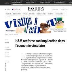 H&M renforce son implication dans l'économie circulaire - Actualité : industrie (#562544)